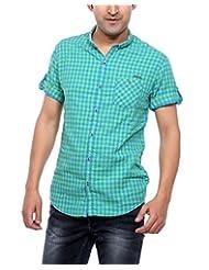 Mufti Men's Slim Fit Cotton Shirt - B00V4X6KTM