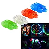 Dazzling Toys LED Bright Finger Flashlights - LED Finger Beam - Maga Pack of 80 Lights in a Pack