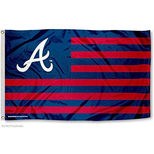 MLB Atlanta Braves Nation Flag 3x5 Banner