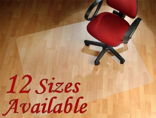 FloordirektPRO Office Chair Mat - 120x183cm - Hard Floor Protection - 100% Polycarbonate