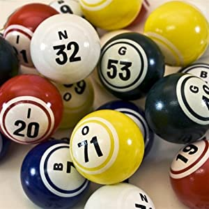 Bingo Balls - Pro Series - Multi Color