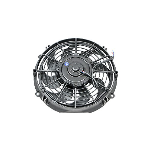 "Top Street Performance HC7102 Pro Series 10"" Radiator Fan with Computer Balanced Curved Blade"