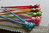 Training chopsticks for kids adults and beginners - 5 Pairs with learning chopstick helper - right or left handed