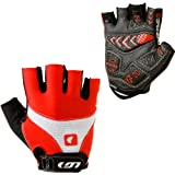 Louis Garneau Men's 12c Air Gel Cycling Glove, Ginger, Large