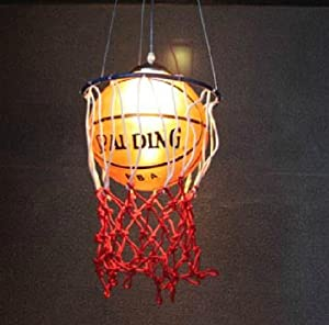 Miro(tm) Basketball Ceiling Light Fixture, E27 Base Screw