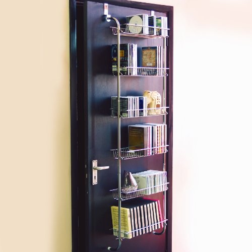 ASCOT - Metal CD / DVD / VIDEO Over Door Storage Shelves