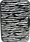 Zebra Aluminum Wallet