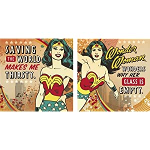 Wonder Woman Beverage Napkin