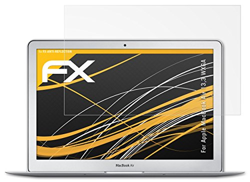 atFoliX FX-Antireflex Film de protection d'écran pour Apple MacBook Air 13,3″