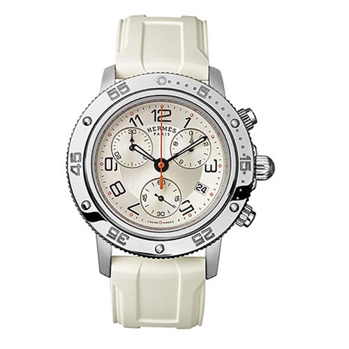 Hermes Clipper Chronograph Quartz Watch - 035366WW00
