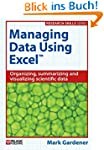 Managing Data Using Excel (Research S...