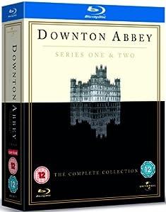 Downton Abbey - Series 1 & 2 [Blu-ray] [Region Free]
