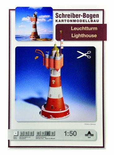 Schreiber-Bogen Lighthouse Card Model