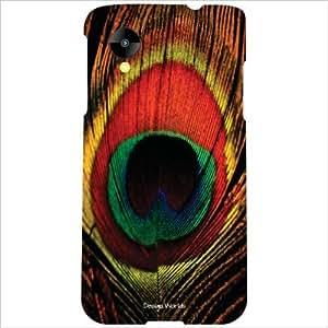 Design Worlds - LG Nexus 5 LG-D821 Designer Back Cover Case - Multicolor Ph...
