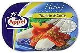 Appel Heringsfilet Tomate & Curry, 10er Pack (10 x 200 g Dose)