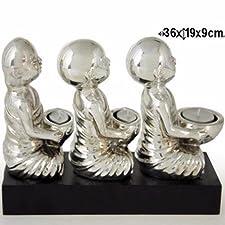 Figura Budas portavelas