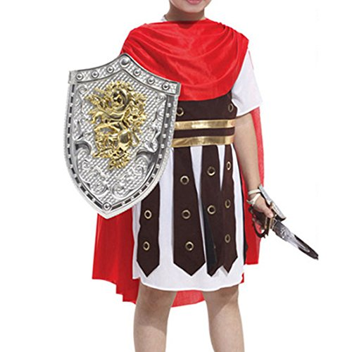 Cozy Age Children's Role Play Little Rome Warrior Costume