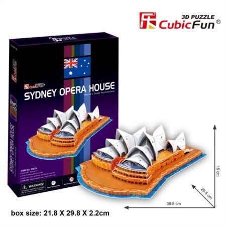 CubicFun C067H Sydney Opera House Puzzle