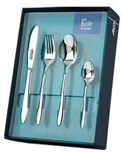 Amazon.com: Arcos Berlin 24 Pcs Cutlery Set: Boxed Knife Sets: Kitchen