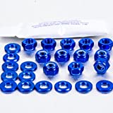 Aluminium Rocker Cover Kit Audi Quattro (4 Cyl.) Blue