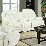 E-Motion Furniture Thalia Dual Reclining Loveseat with Console