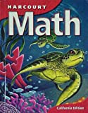 img - for HARCOURT MATH: CALIFORNIA EDITION (LARGE PRINT) CHAPTERS 1-30 GRADE 4 PUPIL'S (California Edition, Level 4) book / textbook / text book