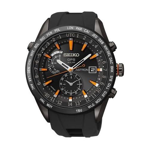 セイコー Seiko SAST025G Astron GPS Solar Mens Watch 男性 メンズ 腕時計 【並行輸入品】