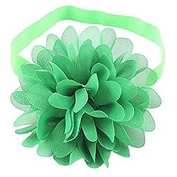 LD DRESS Cute baby elastic headband (green)