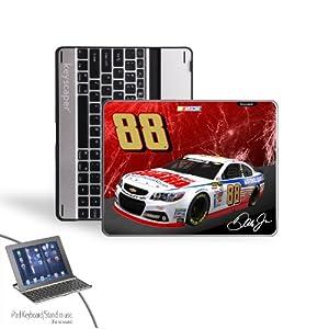 NASCAR Dale Earnhardt Jr 88 National Guard iPad 2 3 Bluetooth Keyboard Case by Keyscaper