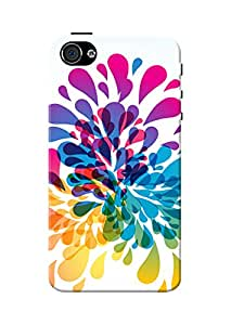 Apple iPhone 4/4S Cover, Premium Quality Designer Printed 3D Lightweight Slim Matte Finish Hard Case Back Cover for Apple iPhone 4/4S + Free Mobile Viewing Stand