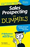 Sales Prospecting For Dummies (0764550667) by Hopkins