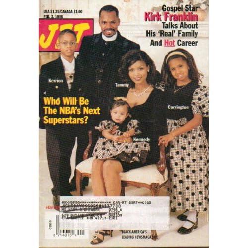 Jet Magazine Feb. 2, 1998 with Gospel Star Kirk Franklin