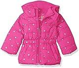 Pink Platinum Girls' Infant Printed Foil Star Puffer Jacket