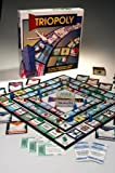 Triopoly Monopoly Style Game Board Game