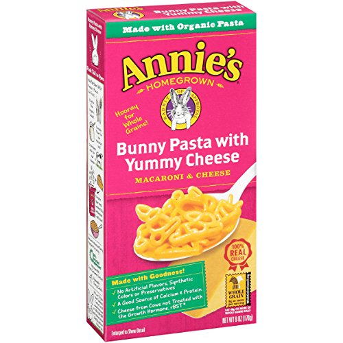 Annie's Bunny Pasta with Yummy Cheese Macaroni & Cheese 6 oz. Box (Pack of 12) (Mac And Cheese Annies compare prices)