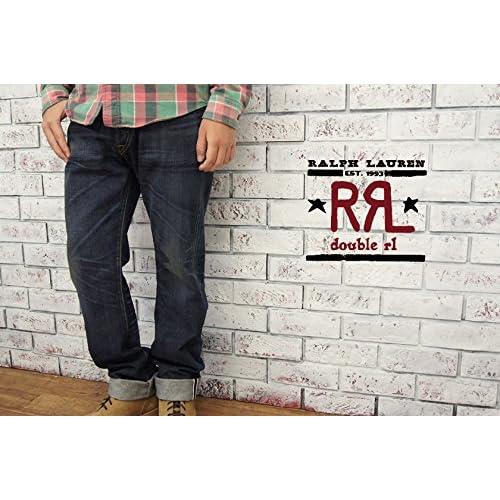 """(ラルフローレンダブルアールエル) ralph lauren RRL LOW STRAIGHT ウォッシュ ジーンズ""""BLUE RAPIDS"""" W28×L32 [並行輸入品]"""