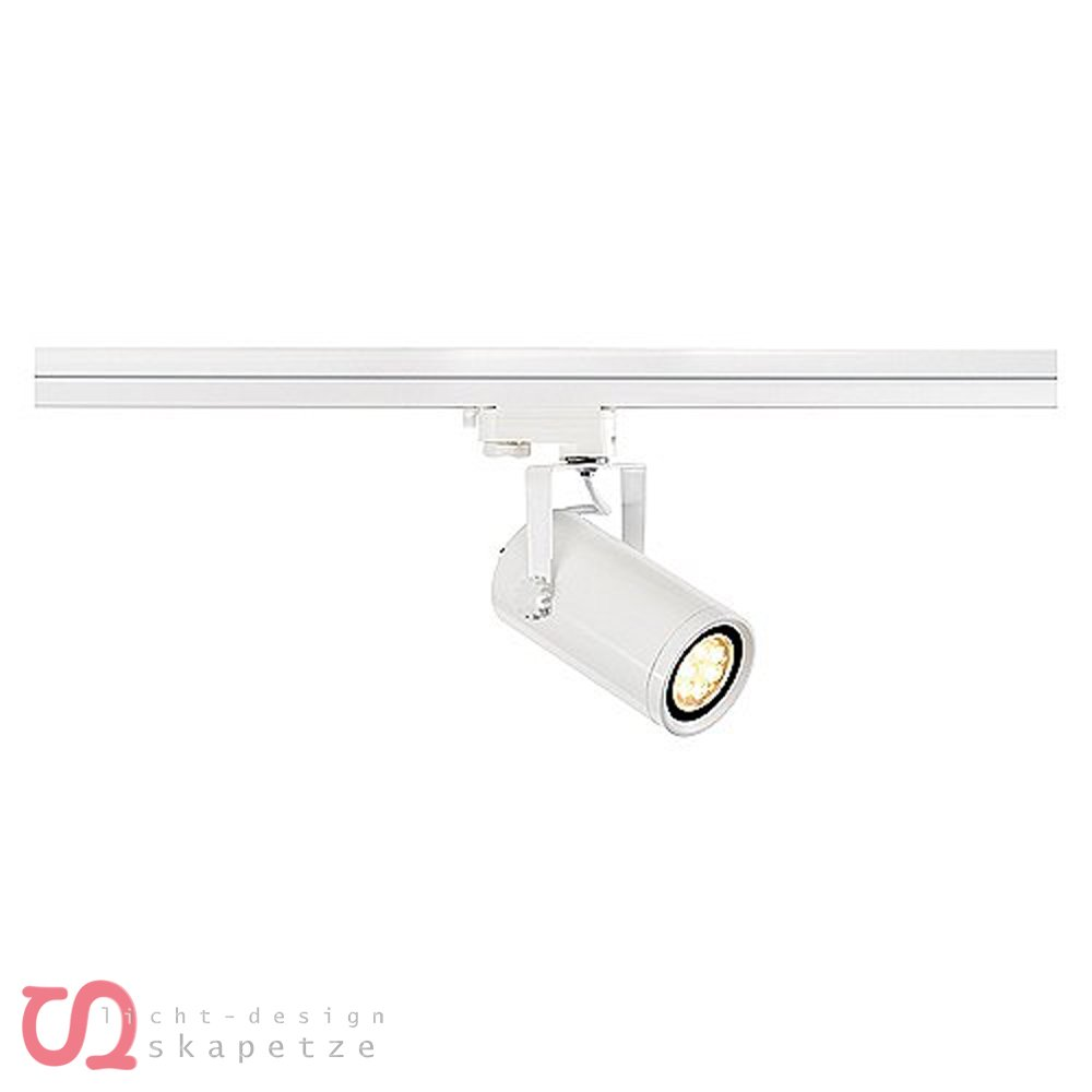 SLV Euro Spot Integrated LED, 13 W, 4000K, 36 Grad inklusive 3P, Adapter 153984