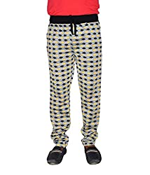 Crux&hunter Men's Trackpant (AMZ_ZJ_204_Yellow_36)