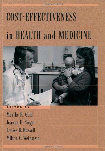 Cost-Effectiveness in Health and Medicine PDF