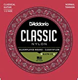 D'Addario EJ27N 1/2 Student Nylon Fractional Classical Guitar Strings, Normal Tension