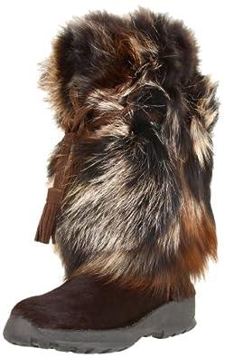 Pajar Women's Fox Trot Fox Mid Shaft Boot,Brown,37 EU