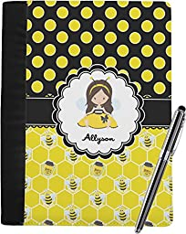 Honeycomb, Bees & Polka Dots Notebook Padfolio