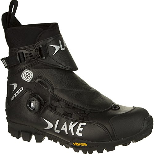 Lake MXZ303 Winter Cycling Boot - Wide - Men's Black, 46.0/Wide (Lake Winter Cycling Shoes compare prices)