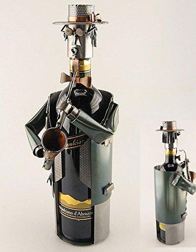Weinflaschenhalter-Saxofon