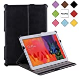 WAWO Samsung Galaxy Note & Tab PRO 12.2 Tablet Smart Multi-angle stents case cover - Black