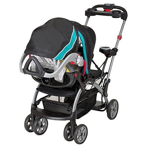 baby trend sit n stand ultra stroller tropic. Black Bedroom Furniture Sets. Home Design Ideas