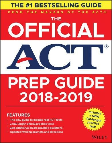 The Official ACT Prep Guide, 2018-19 Edition (Book + Bonus Online Content) [ACT] (Tapa Blanda)