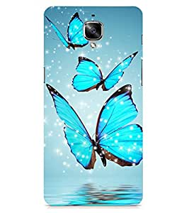 Kingcase Printed Back Case Cover For Oneplus 3 - Multicolor