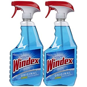 Windex Cleaners, Blue, 2 Count