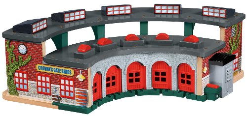 Thomas Wooden Railway - Deluxe Roundhouse